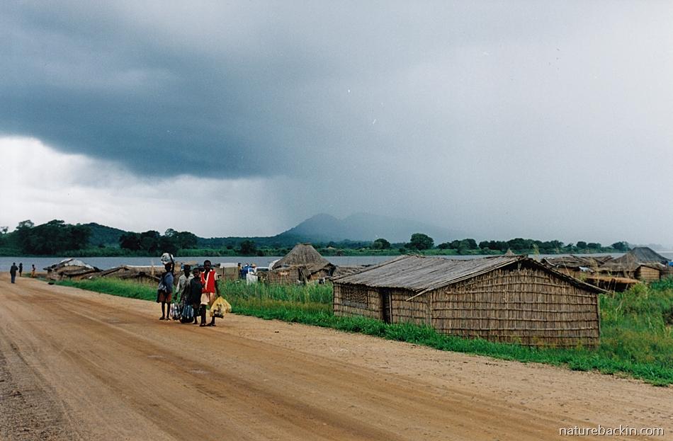 Approaching storm Zambezia Province, Mozambique 2003