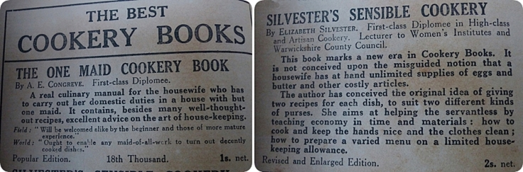 Kitchenalia-adverts-cookbooks