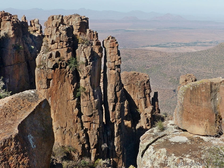 View at Valley of Desolation, Camdeboo National Park, South Africa