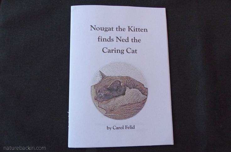 Cover of story book Nougat the Kitten finds Ned the Caring Cat