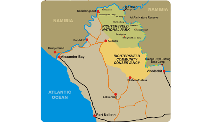 RIchtersveld-region-map