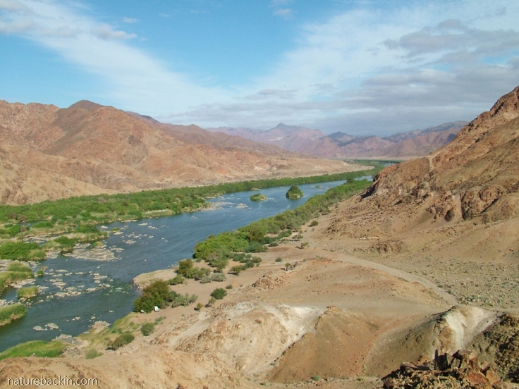Gariep (Orange) River at De Hoop, Richtersveld National Park
