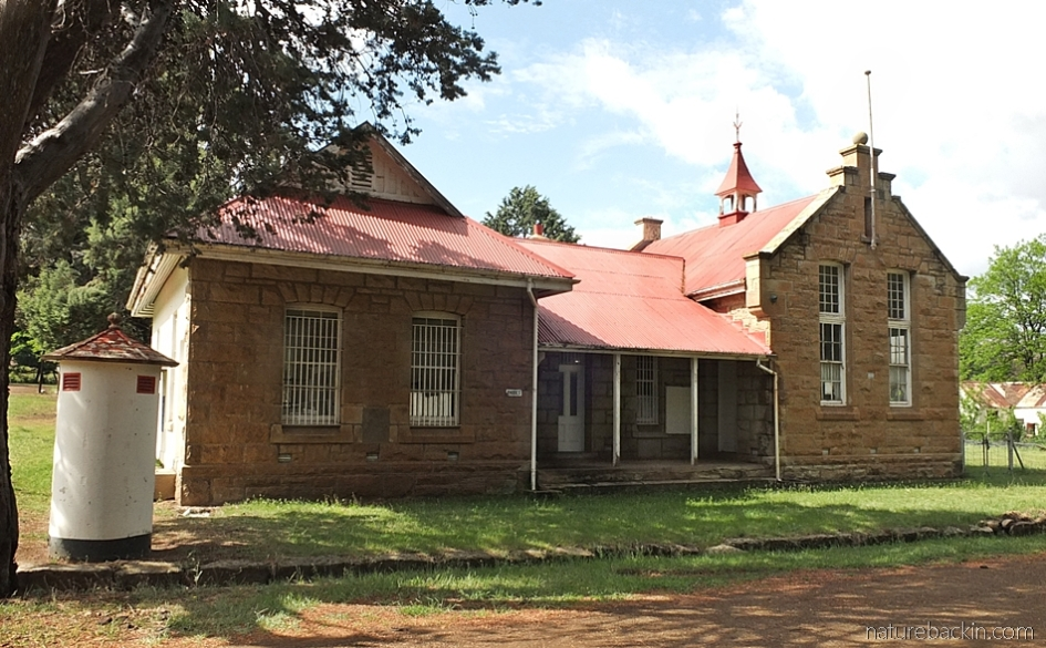 Old post office building, Rhodes village, Eastern Cape, South Africa