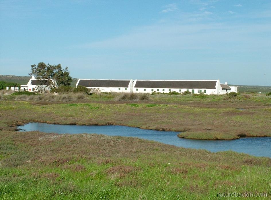 Geelbeck Cape Dutch buildings, West Coast National Park