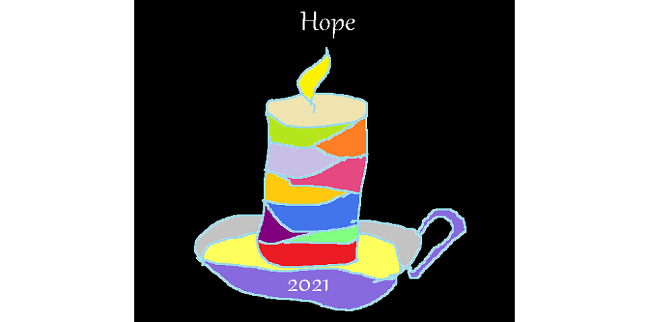 Candle of hope, 2021