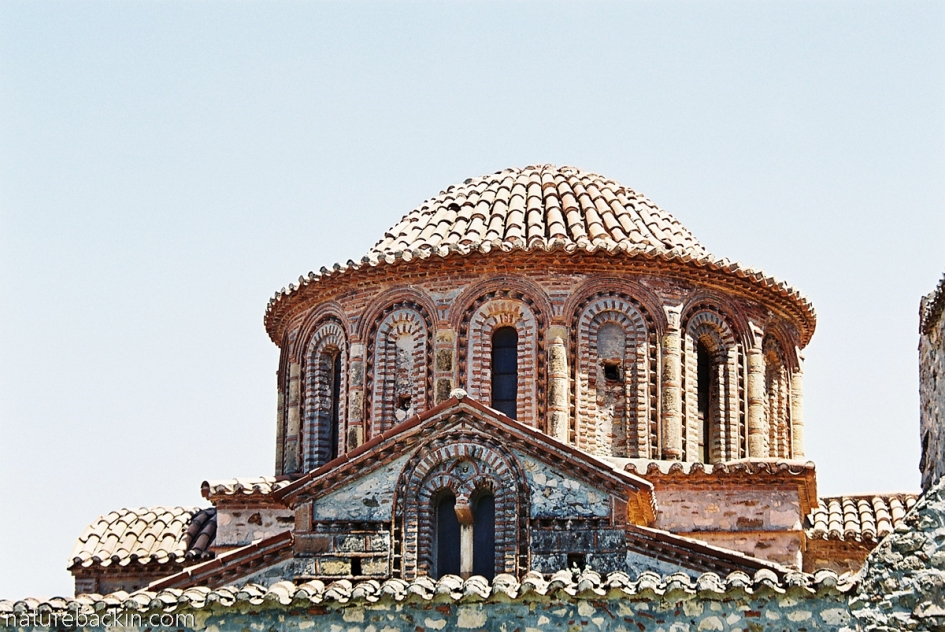 Dome of the Saint Theodoroi church, Mystras