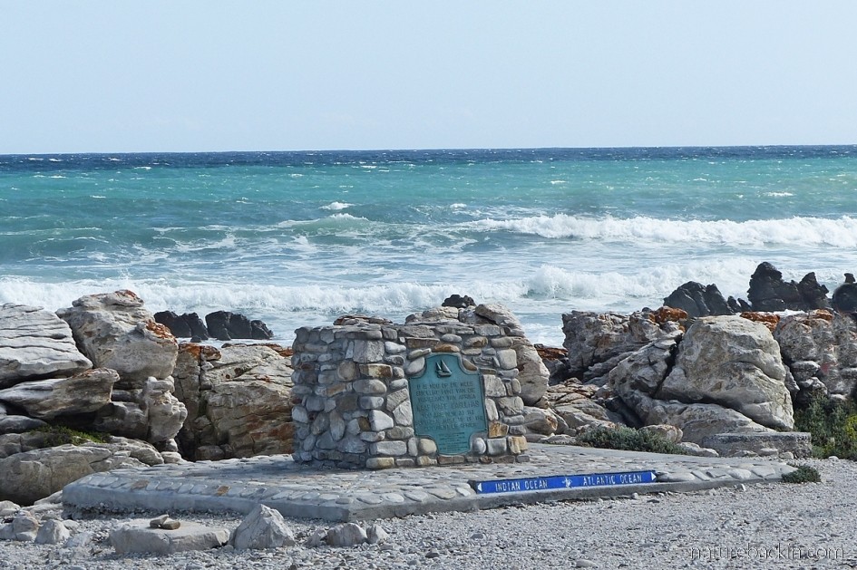 Cape Agulhas, where two oceans meet