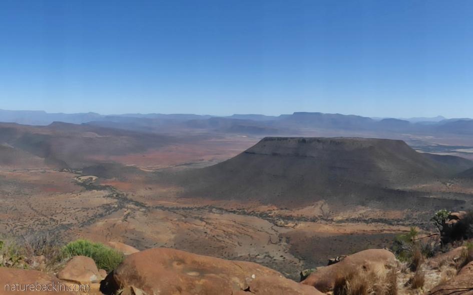 Arid conditions near Graaff Reinet, Eastern Cape