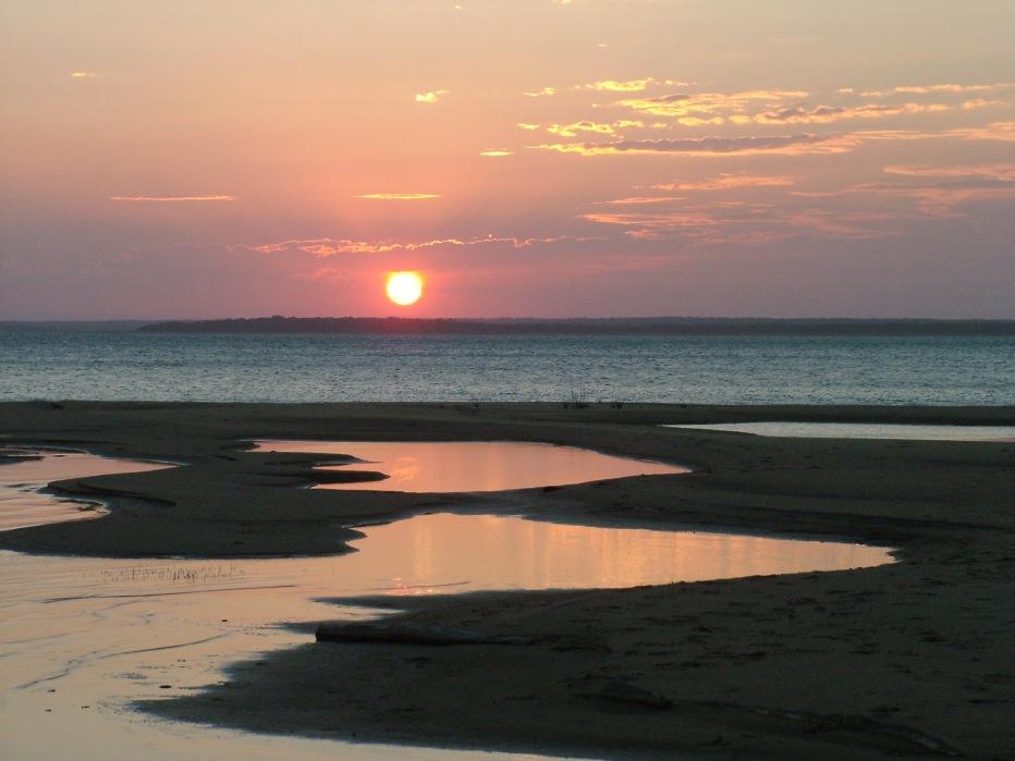 Sunset at Lake Sibaya, iSimangaliso Wetland Park, KwaZulu-Natal